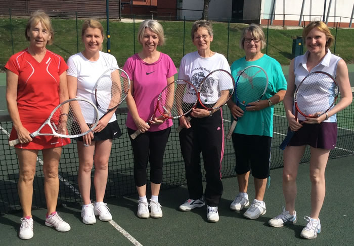 Ladies 2nd Team pictured from left, Maggie Downs, Jill King, Karen Walker, Sandra Burley, Pauline Wreglesworth and Catherine Field.